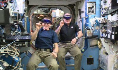 Vídeo: HoloLens en la Estación Espacial Internacional 74
