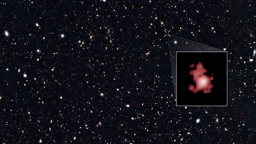 galaxia más distante