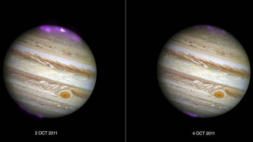 Tormenta solar activa aurora de rayos X en Júpiter 29