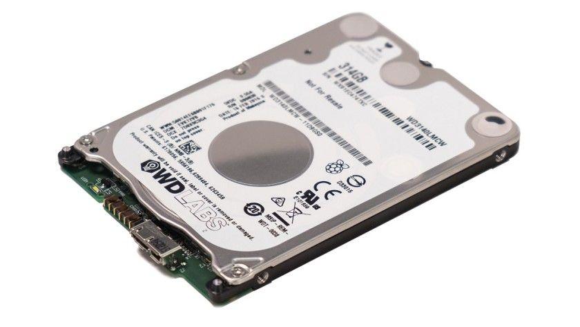 WD PiDrive, un HDD especial de 314 GB para Raspberry Pi