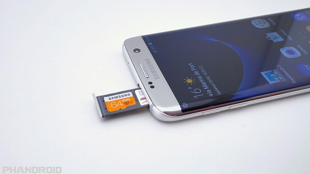 Galaxy S7 no permite instalar aplicaciones en la microSD 37