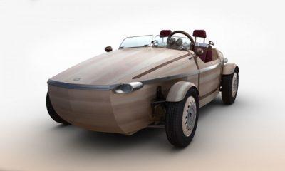 Setsuna, el coche de madera de Toyota 216