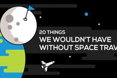 20 cosas que no tendríamos sin viajes espaciales