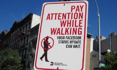 Nueva ley busca multar a los que escriben mientras caminan 41