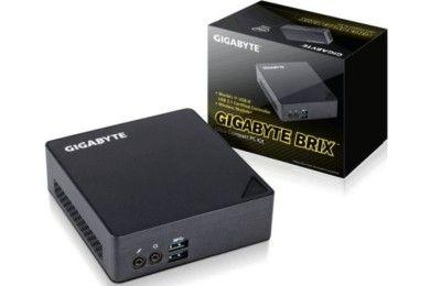 GIGABYTE actualiza sus Brix con Skylake y Thunderbolt 3