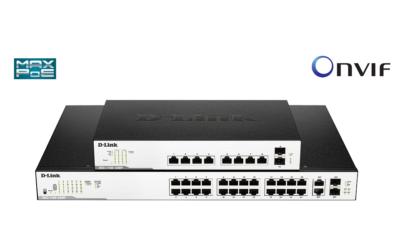 Nuevos Switches Smart Gigabit Surveillance PoE+ de D-Link 136