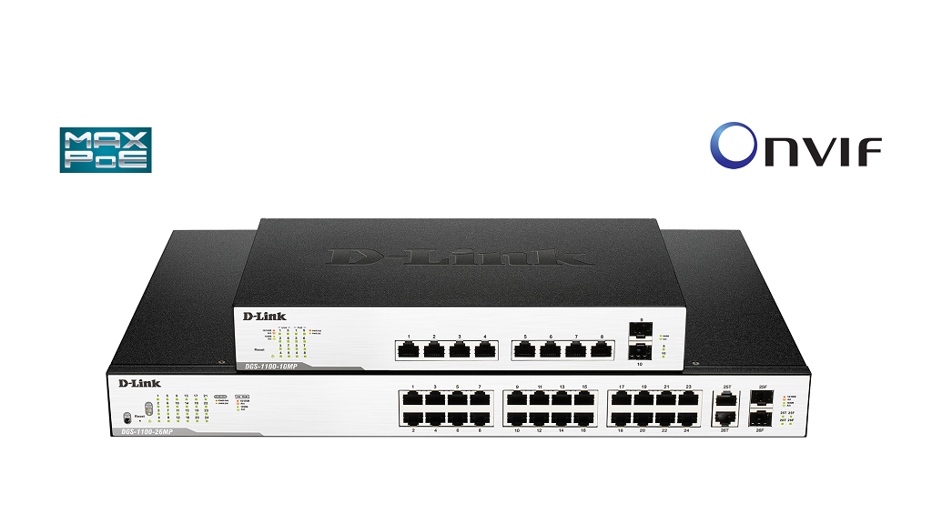 Nuevos Switches Smart Gigabit Surveillance PoE+ de D-Link 30