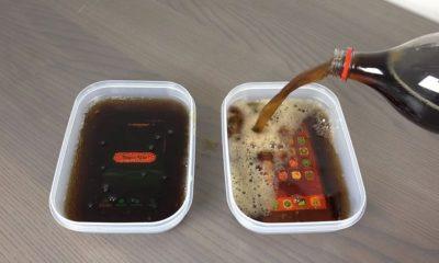 Galaxy S7 y iPhone 6s congelados en Coca Cola, ¿aguantarán? 90