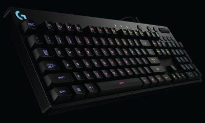 Logitech crea una pantalla retro con 160 teclados 111