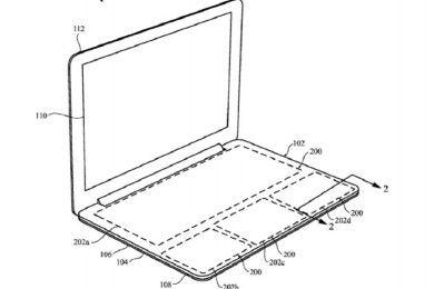 Apple patenta teclado para MacBook, pero sin teclas