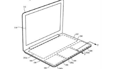 Apple patenta teclado para MacBook, pero sin teclas 117