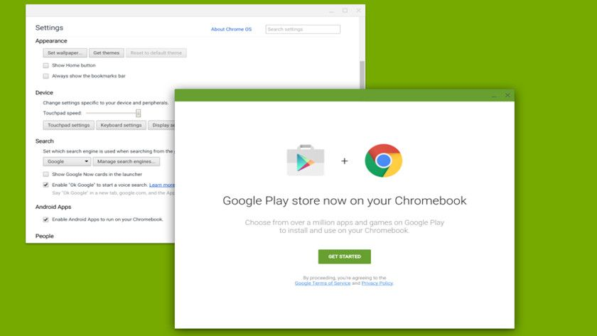 Play Store en Chrome OS