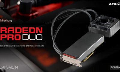 Así rinde la nueva Radeon Pro Duo de AMD 40