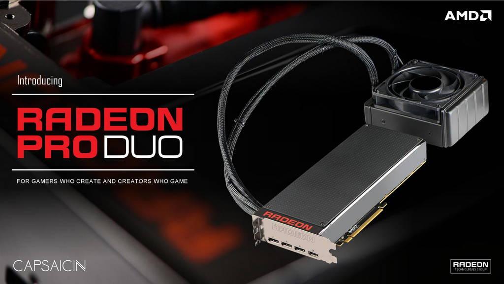 Así rinde la nueva Radeon Pro Duo de AMD 30