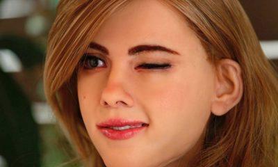 Robot casero inspirado en Scarlett Johansson 30