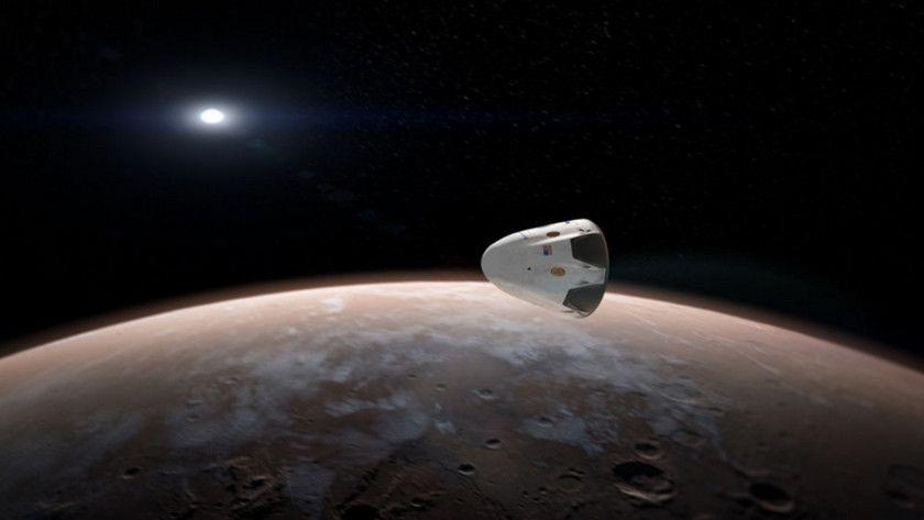 SpaceX enviará una nave a Marte a comienzos de 2018