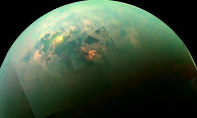 Cassini explora un mar de metano en Titán 105