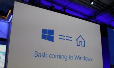 primer Windows 10 con Bash