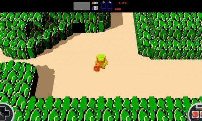 Nintendo obliga a retirar la versión 3D del Zelda de NES 90