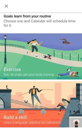 Google Calendar quiere ayudarte a conseguir tus objetivos 31
