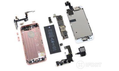 iFixit desmonta el nuevo iPhone SE 73