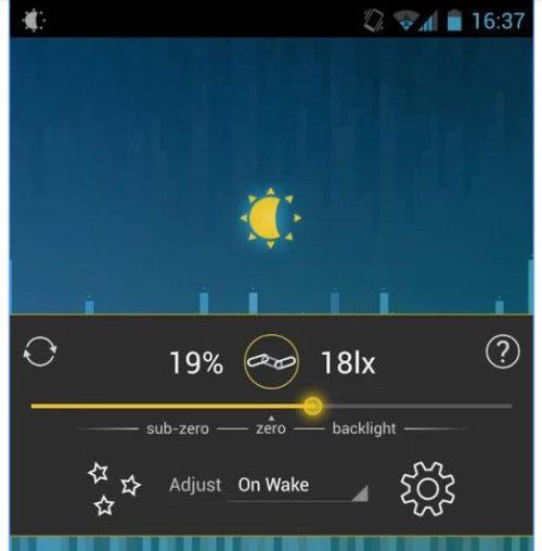 autonomía en Android