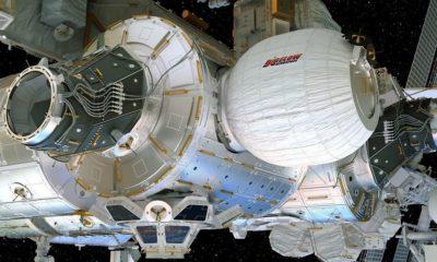 La NASA consigue inflar el nuevo módulo de la ISS 89