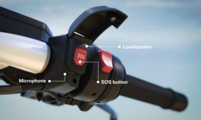 BMW muestra el primer sistema inteligente de emergencia para motos