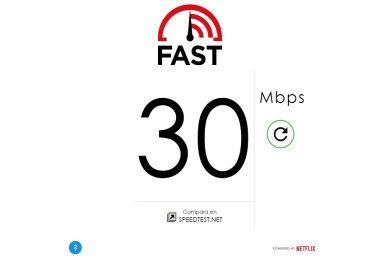Netflix lanza Fast.com para medir la velocidad de tu conexión