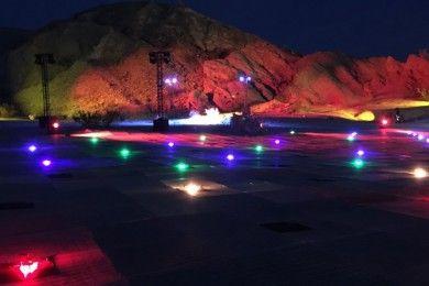 Los drones de Intel retoman vuelo en el desierto de Mojave