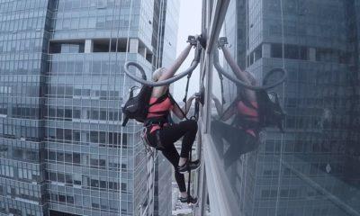 Escalan rascacielos utilizando dos aspiradoras, ¿te atreverías? 45