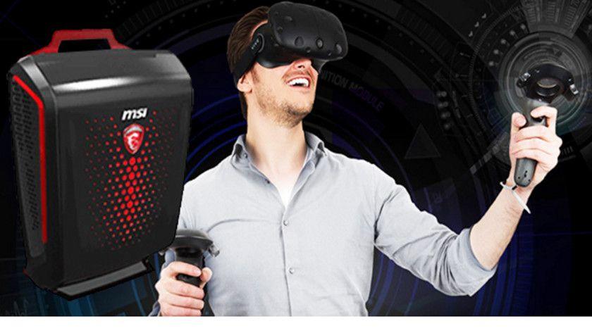"MSI Backpack, una potente ""mochila"" para VR"