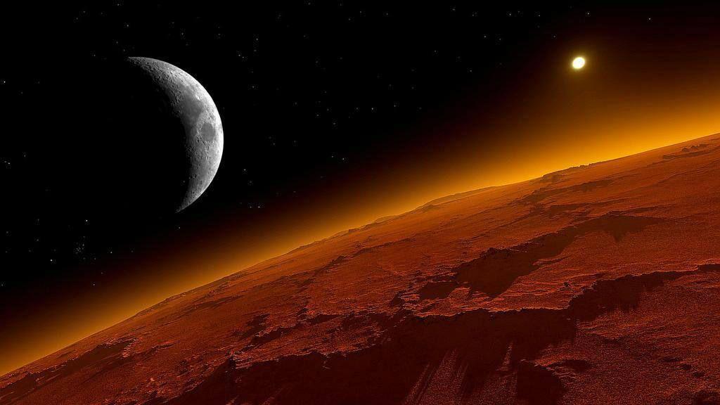 Marte todavía se recupera de una edad de hielo 29