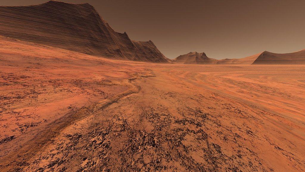 Descubren restos de oxígeno en la atmósfera de Marte 28