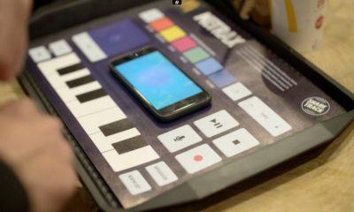 McDonald's crea un mantel de papel que puede hacer música