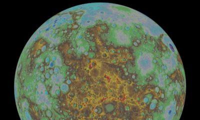 Revelado el primer mapa topográfico de Mercurio 46
