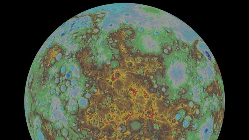 Revelado el primer mapa topográfico de Mercurio 30