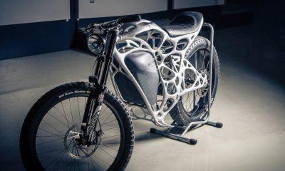 Esta motocicleta impresa en 3D es una chulada muy cara 77