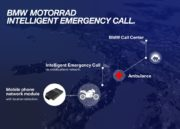 Sistema inteligente de emergencia para motocicletas BMW 3
