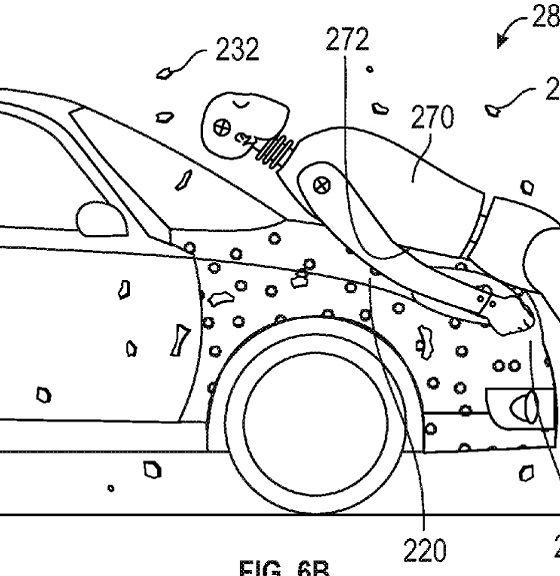 Google patenta adhesivo para salvar vidas en accidentes 32