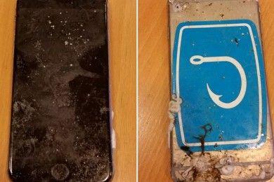 Apple no ha podido reparar el iPhone perdido en el mar