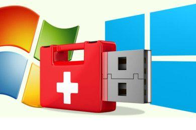 Diez medios de arranque para rescate contra virus en Windows