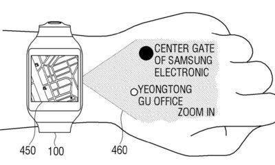 Samsung patenta smartwatch que proyecta interfaz en tu mano 53
