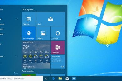 Windows 10 en Windows 7