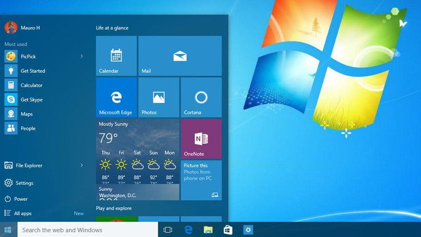 Windows 10 en Windows 7