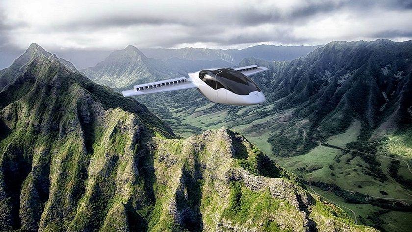 Lilium, una aeronave personal con despegue vertical 30