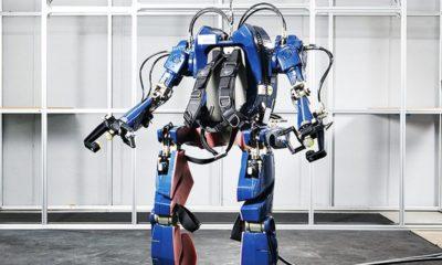 Hyundai crea un interesante exoesqueleto de gran tamaño 80