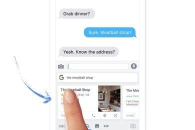 Google lanza teclado para iOS con búsqueda integrada