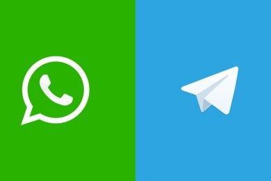 Un WhatsApp vs Telegram muy relativo