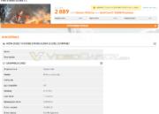 Rendimiento de la RX 480 en 3DMark Fire Strike 33